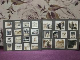 【民国老照片 28张 粘贴于相纸板上 品相不错】