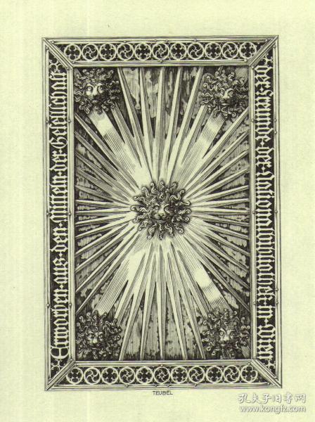 奥地利已故铜版雕刻大师图博尔藏书票原作24