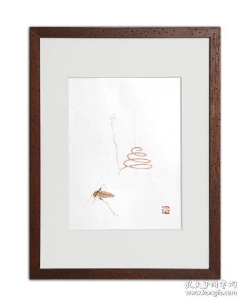 饾版水印版画 文心雕虫系列之五