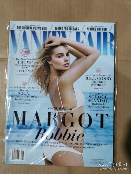 Vanity Fair 名利场 2016年8月英文版