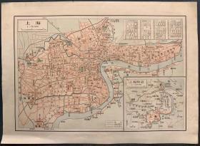 1930年代上海市区地图