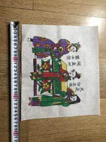 木板年画  门神(23×26)cm