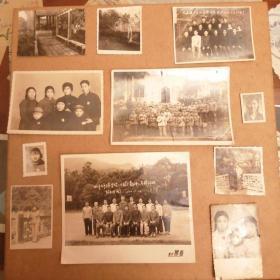 文革时期 老黑白照片11张 货号85