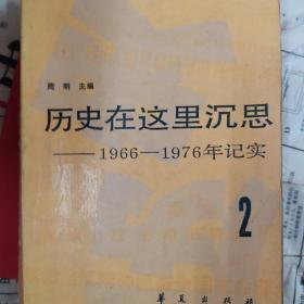 历史在这里沉思1966—1976