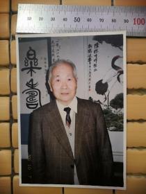 著名新闻传播学者、人民大学知名教授:张隆栋签名留言照片一张