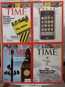 Time magazine 时代周刊 2007年 27本合售,个人收藏非馆藏,具体期号见描述,最后一本外页有脱落