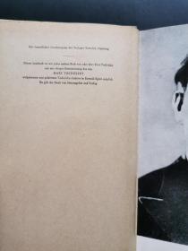 TUCHOLSKY(少见1963年出版著名文学评论家、诗人库尔特·图霍夫斯基著作,精装外文原版)