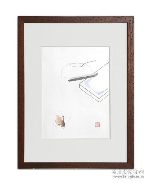 饾版水印版画 文心雕虫系列之四