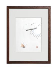 饾版水印版画|文心雕虫系列之四
