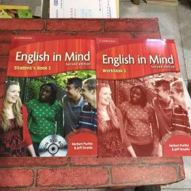 English in Mind Level 1(2本合售、)