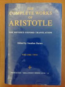 Complete Works of Aristotle, Volume 2: The Revised Oxford Translation(布面精装)(进口原版,国内现货)