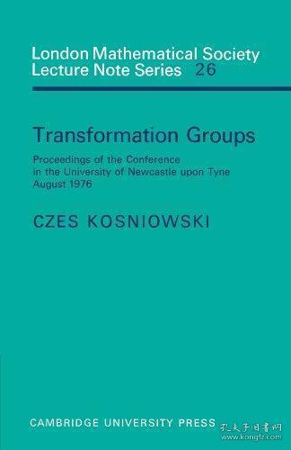 TransformationGroups