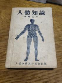 大连中苏友好协会出版:人体知识【陈聘丞(译)】