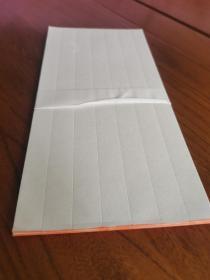 高档民国老信笺纸5张,暗格五行,纸张柔韧白洁如新