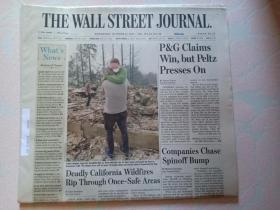 THE WALL STREET JOURNAL 华尔街日报 2017/10/11  外文原版报纸