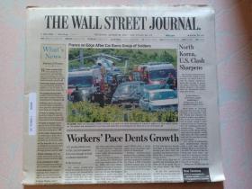 THE WALL STREET JOURNAL 华尔街日报 2017/08/10  外文原版报纸