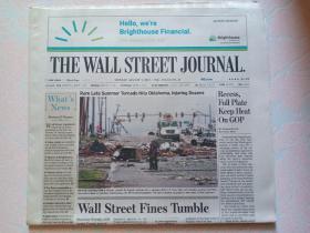 THE WALL STREET JOURNAL 华尔街日报 2017/08/07   外文原版报纸