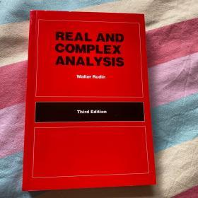 real and complex analysis third edition