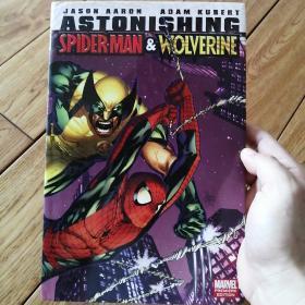 Astonishing Spider-Man & Wolverine 英文原版精装