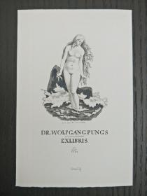 铜版雕刻版雕刻  藏书票