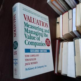 Valuation: Measuring And Managing The Value Of Companies估值: 衡量和管理公司的价值【精装有签名】