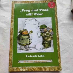 Frog and Toad All Year (Book + CD) (I Can Read, Level 2)青蛙和蟾蜍的一整年,书附CD版