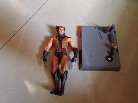 Wolverine 狼人—— 1:12(无原配底座),X-Men 金刚狼 (无头罩版)——罗根[Logan]★ 【marvel select  X战警 狼人】 7寸可动人偶 玩具公仔 @漫威漫画, 企划·制作:MARVEL,発壳:DST