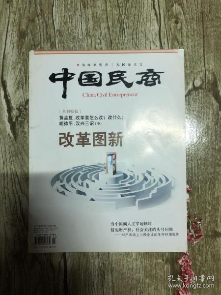 中国民商,改革图新