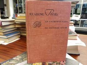 Reading Poems:  an Introduction to Critical Study
