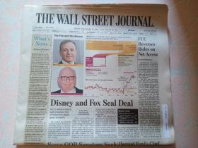 THE WALL STREET JOURNAL 华尔街日报 2017/12/15 外文原版报纸