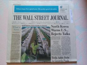 THE WALL STREET JOURNAL 华尔街日报 2017/08/08   外文原版报纸
