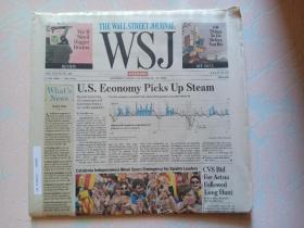 THE WALL STREET JOURNAL 华尔街日报周末版 WSJ 2017/10/28-29  外文原版报纸