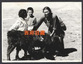 九十年代,青藏高原,藏区地区人文摄影老照片