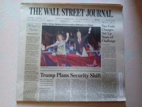 THE WALL STREET JOURNAL 华尔街日报 2017/12/18  外文原版报纸
