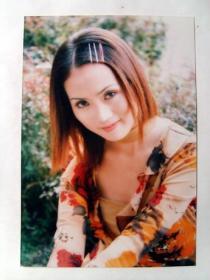 原版照片:影视 明星 早期 原版签名照片 两张