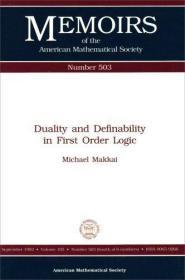 Duality and Definability in First Order Logic (Memoirs of the American Mathematical Society)