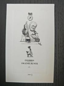 雕刻版画   藏书票   铜版画