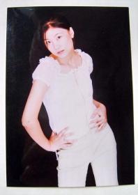 原版照片:影视 明星 早期 原版签名照片