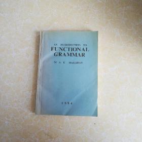 功能语法概论 英文版
