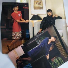 刘琦,新加坡英文电视杂志彩页4面