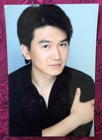 演员 张磊 宣传老照片一枚