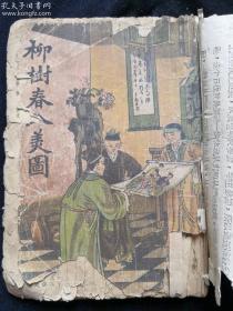 民国旧书小说(柳树舂八美图,又名:九义十八侠)
