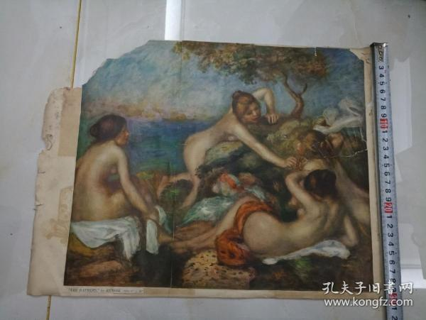 剪报——THE BATHERS by RENOIR