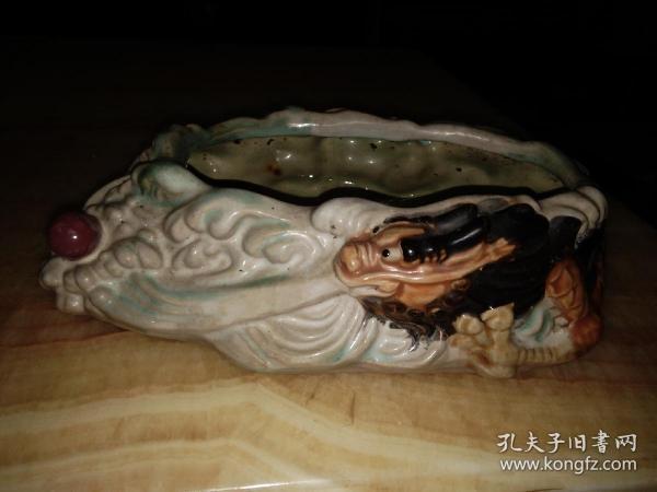 旧石湾水仙盆