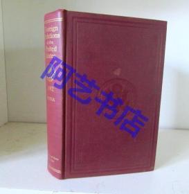 《美国对外关系》Foreign Relations of the United States,(从1861年到现在,已经出版了400多本,其中包含不同年代的多本中美关系史),每本价格不等,大约为: