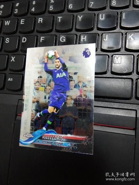 门将 球星卡,Topps chrome,法国国家队队长  乌戈洛里斯  Hugo lloris