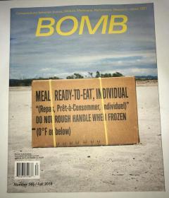 著名当代艺术杂志 2018年秋季刊 BOMB Magazine