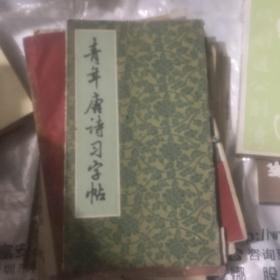 青年唐诗习字帖