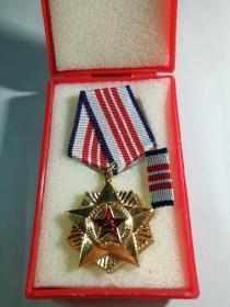 自卫反击战,老山作战,三等奖章。荣誉