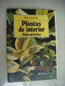 西班语原版 Plantas de interior Guia práctica <室内植物〉  彩色插图本